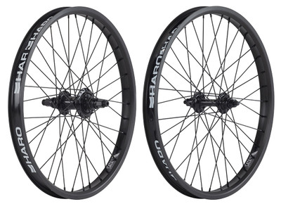 Haro Sata Wheel Set in Black at Albe's BMX
