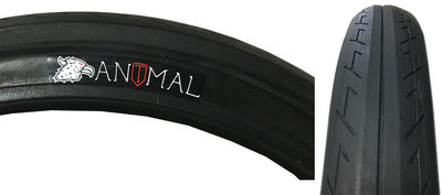 Animal x Terrible One collaboration BMX tire at Albe's BMX