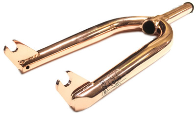 DK RT V2 BMX Fork in copper at Albe's BMX Shop