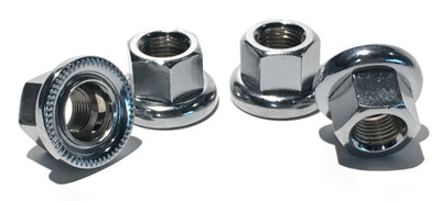 MCS Spinner nuts 4 pack at Albe's BMX Shop