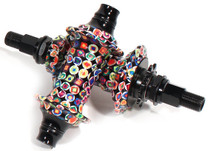 Profile Racing Kaleidoscope Limited Edition BMX Hubs at Albe's BMX