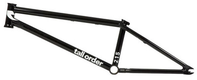Tall Order 215 Frame in Black at Albe's BMX Bike Shop