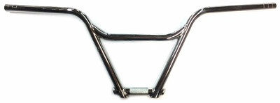 Haro Bikes Nyquist BMX Handle Bar in Chrome at Albe's BMX Bike Shop