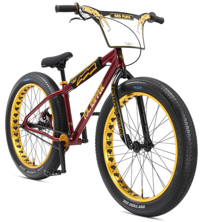 SE Bikes 2018 Fat Ripper BMX Bike in Maroon Sparkle at Albe's BMX Bike Shop