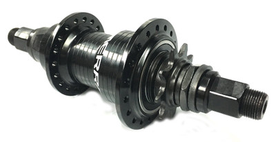 Merritt Final Drive Freecoaster hub in black available at Albe's BMX Online