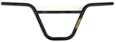 Deco BMX Mustache Handle Bar in Black at Albe's BMX bike Shop