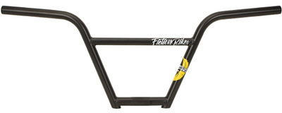Fiction Bikes Monkey Bar BMX handle bar in black at Albe's BMX bike Shop