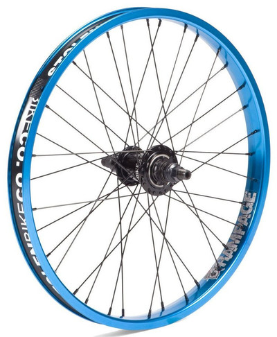 Stolen Bikes Rampage Freecoaster wheel in Blue at Albe's BMX Bike Shop