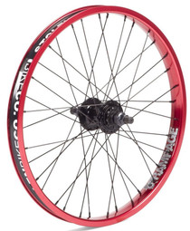 Stolen Rampage Rear wheel in Red at Albe's BMX Bike Shop
