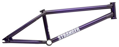 Stranger Ballast Conner Keating Frame in Purple at Albe's BMX Bike Shop