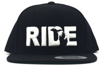 Ride Michigan Flat Bill Snap Back at at Albe's BMX Bike Shop