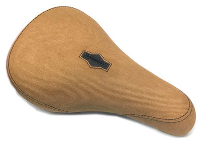 Sunday Bikes Duck Canvas Pivotal Seat in tan at Albe's BMX Bike Shop