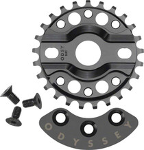Odyssey Halfbash Sprocket with guard at Albe's BMX Bike Shop