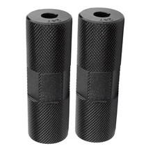 Alloy Thread On Freestyle BMX Pegs in black at Albe's BMX Bike Shop