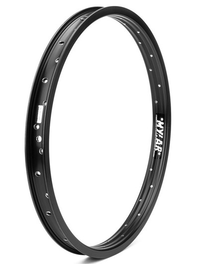 Mission Mylar BMX Rim in Black at Albe's BMX Bike Shop