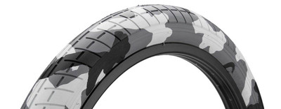 Mission Tracker Tire in Artic Camo at Albe's BMX Bike Shop Online