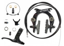 Odyssey Evo 2.5 Brake Kit in Black at Albe's BMX Bike Shop Online