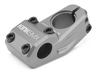 Kink Highrise BMX Stem in Gunpowder Grey at Albe's BMX Bike Shop