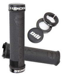 Box One Hex Lock On Grip in Black at Albe's BMX Bike Shop Online