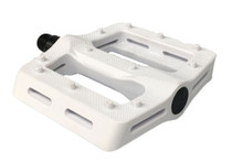 Shadow Surface Pedals in White at Albe's BMX Bike Shop Online