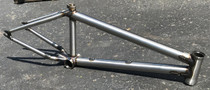 Terrible One Skapegoat Frame in Gloss Clear at Albe's BMX Bike Shop Online