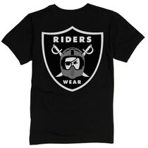Riders Wear T-Shirt in Black at Albe's BMX Bike Shop Online