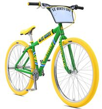 SE Bikes Big Flyer 29 inch bike in Limited Edition Spring Green at Albe's BMX Bike Shop Online.
