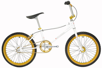Kuwahara KZ-1 Retro Bike in White at Albe's BMX Bike Shop Online