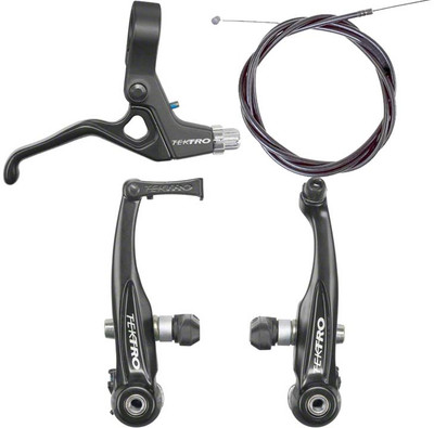 Tektro V brake kit with lever and cable at Albe's BMX Bike Shop Online