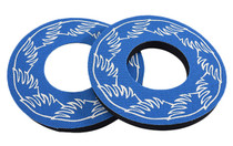 SE Bikes Grip Donuts in Blue at Albe's BMX bike Shop Online