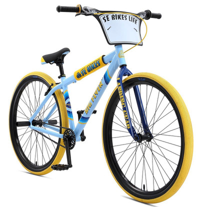 SE Bikes 2019 Big Flyer 29 inch bike in blue at Albe's BMX Bike Shop Online
