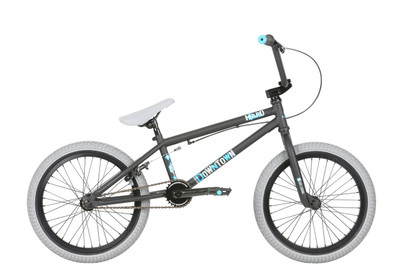 "Haro 2019 Downtown 18"" bike in Matte Black at Albe's BMX Bike Shop Online"