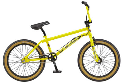 GT Pro Performer 2019 Bike in Yellow at Albe's BMX Bike Shop Online