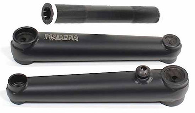 Madera Bantam Cranks in black at Albe's BMX Bike Shop Online