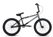 DK Aura 2019 BMX Bike in Silver and Black at Albe's BMX