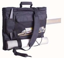 Florence Portfolio Back Pack Black Nylon - A2
