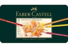 Faber Castell Polychromos Artist Coloured Pencils 120 Set
