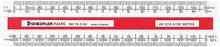 Staedtler Mars Oval Scale Ruler 150mm (AS1212-2)