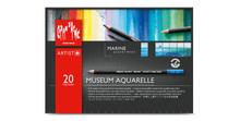 Museum Aquarelle Assort. 20 Box Marine   |  3510.920