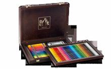 Prismalo Aquarelle Assort. 30 + Neocolor II Assort 40 Box Wooden      3002.470