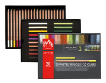 Pastel Landscape Assortment 20 Pencils & 20 Cubes | 7880.420