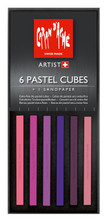 Pastel Cube Assorted Colour Set - Aubergine | 7806.004