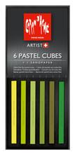 Pastel Cube Assorted Colour Set - Meadow   7806.007