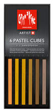Pastel Cube Assorted Colour Set - Sand | 7806.011