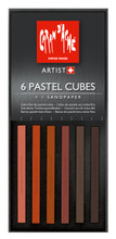 Pastel Cube Assorted Colour Set - Scorched Earth | 7806.012