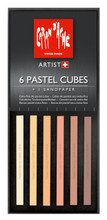 Pastel Cube Assorted Colour Set - Skin Tones | 7806.010