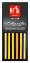 Pastel Cube Assorted Colour Set - Sunflower | 7806.002