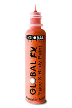 Global FX Face & Body Paint 36ml - Fluoro Neon Orange