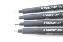 Staedtler Fineliner Pigment Liner - 0.2mm Black