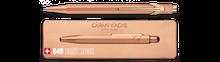 849 Ballpoint Pen with Slim Pack Box - Brut Rose     849.997